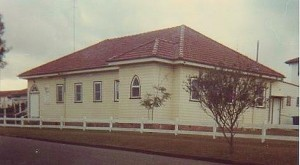 Original Church Building 1954